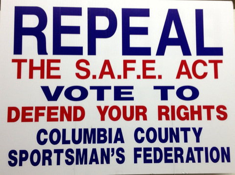 REPEAL SAFE ACT SIGNS