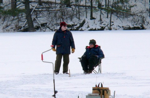 Ice Fishing Party 2014